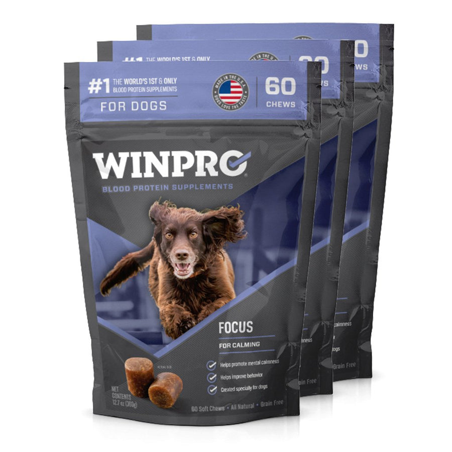 WINPRO FOCUS Canine supplement 3-pack