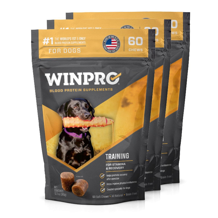 WINPRO TRAINING Canine performance supplement 3-pack