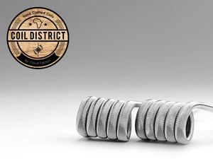 Coil District - Ni80 Fused Claptons