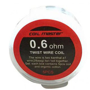 Pre-built Twisted 0.6ohm