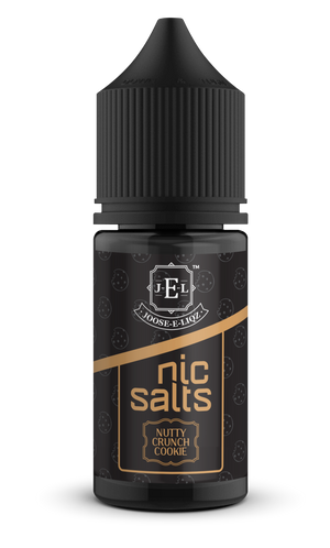 Nutty Crunch Cookie Nic Salts