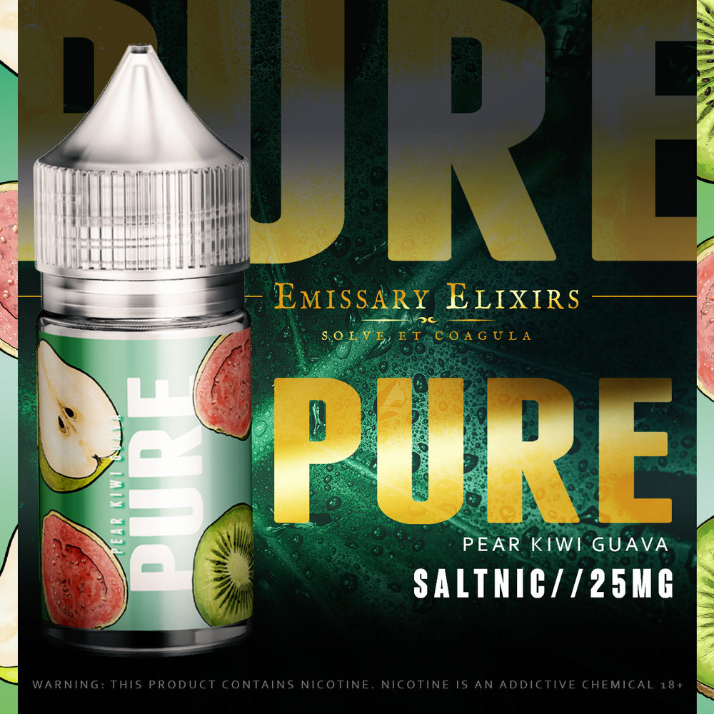 Pure - Green PKG 25mg Salts