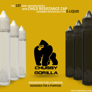 Chubby Gorilla Bottle 30ml - Singles