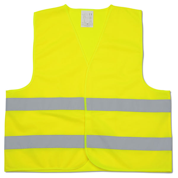 Reflective Yellow Vest with LRC Logo