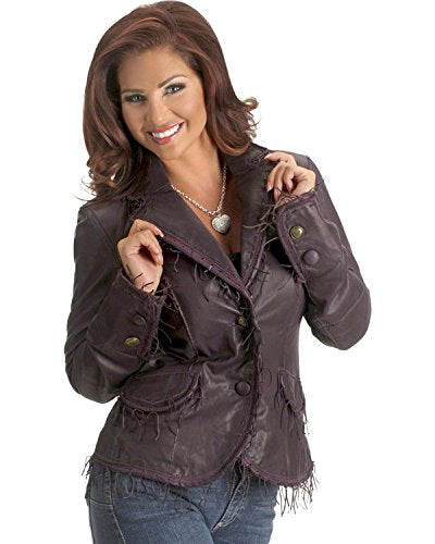 Scully Women's String Fringe Leather Jacket - L989-237