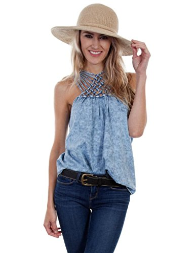 Scully Womens Araminta Summer Fun Crisscross Top