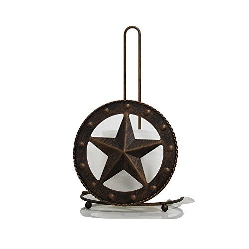 Texas Towel Paper Holder Rustic Barn Vintage Home Crafts
