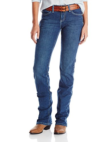 Wrangler Women's Cowgirl Cut Ultimate Riding Jean Q-Baby Midrise Jean