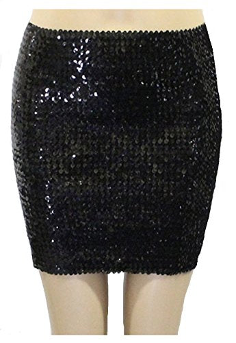 Young Contemporary Fashion Sequins Beaded Short Skirt and Tube top