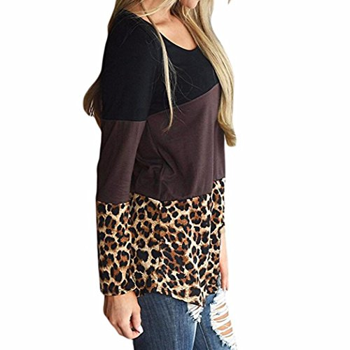 kaifongfu Womens Tops,Back Lace Tunic Tops Casual Long Sleeve T-Shirts Blouses
