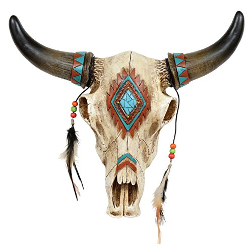 Black Forest Decor Southwestern Skull Wall Hanging