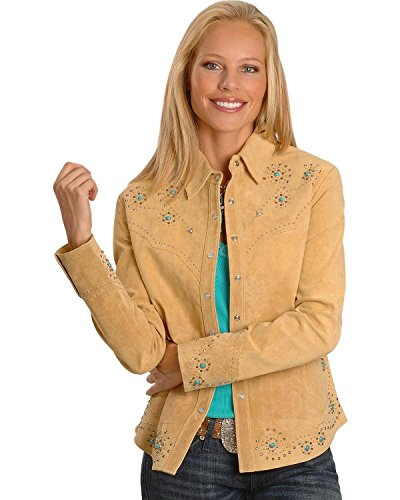 Scully Women's Studded Leather Jacket - L233-19
