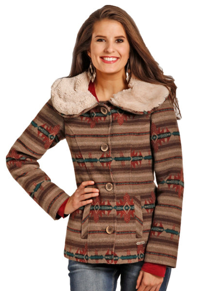 POWDER RIVER OUTFITTER Tescolaro Wool Coat