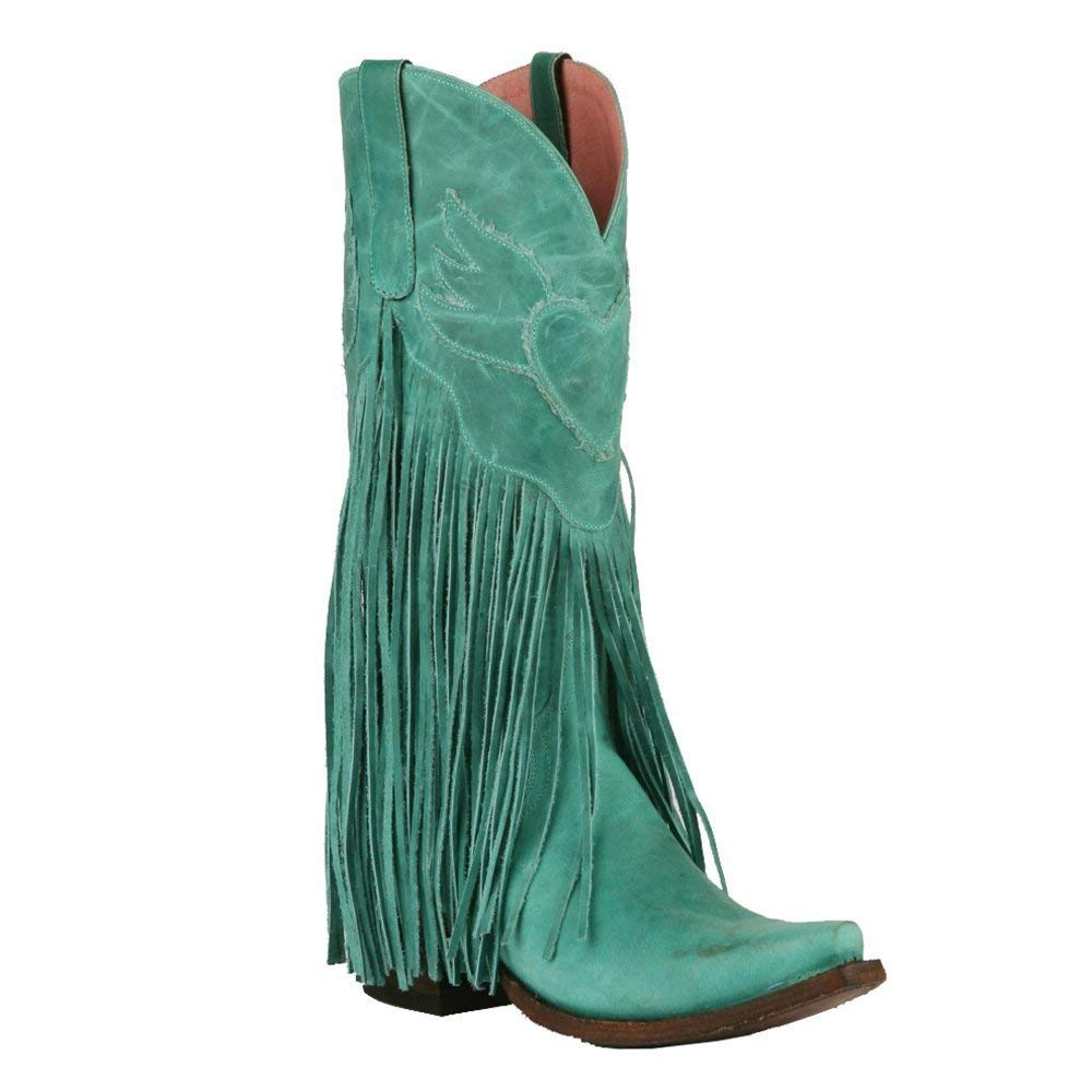 Lane Women's Junk Gypsy Turquoise Dreamer Boot Snip Toe - Jg0004d