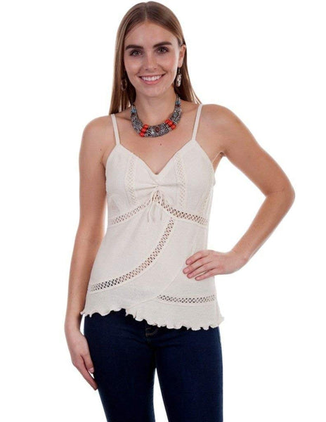 Scully Womens Cantina Charlotte Organic Cotton Top
