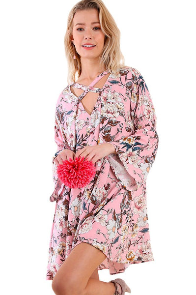 Umgee Women's Bohemian Tunic or Dress