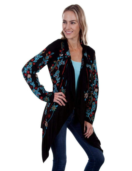Scully Womens Ceopatra Embroidered Jacket