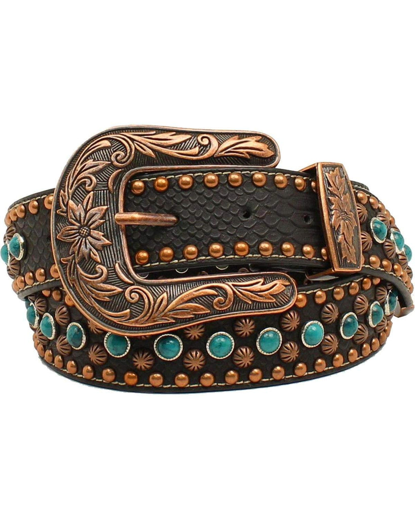 Nocona Women's Center Stone Accents Belt