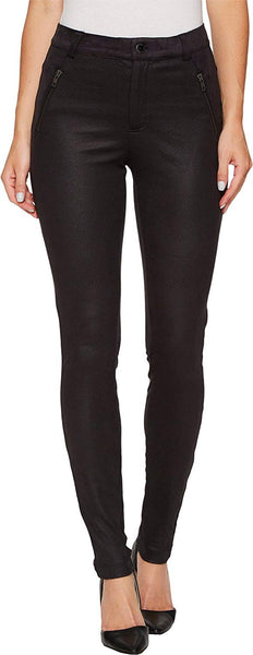 Hale Bob Womens Heart & Soul Stretch Ultra Suede Pants
