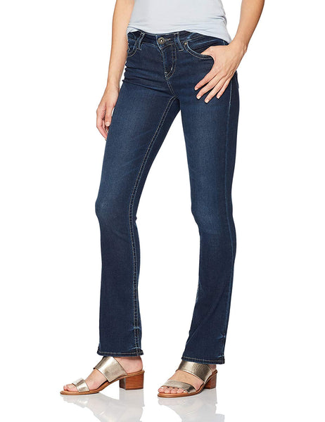 Silver Jeans Co... Women's Aiko Mid Rise Slim Bootcut