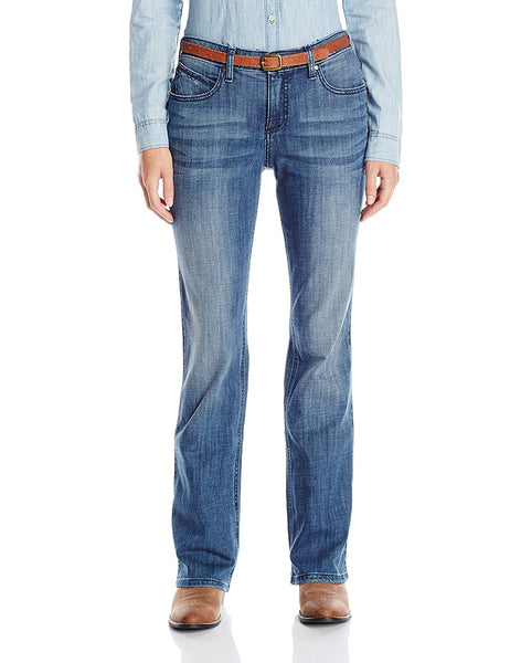 Wrangler Women's Ultimate Riding Qbaby with Booty up Technology Jean