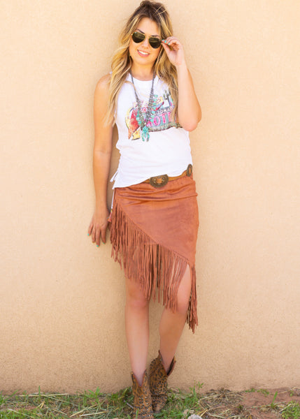 Troubadour Skirt- Rust