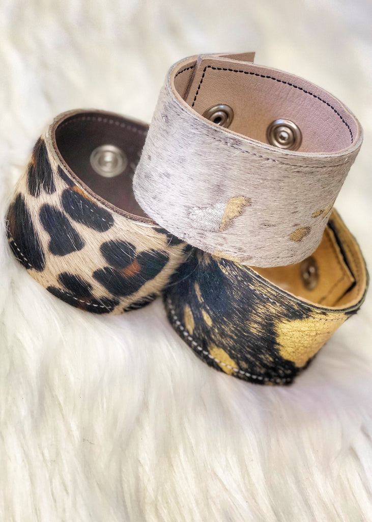 The Cuero Leather Cuffs (5 styles)