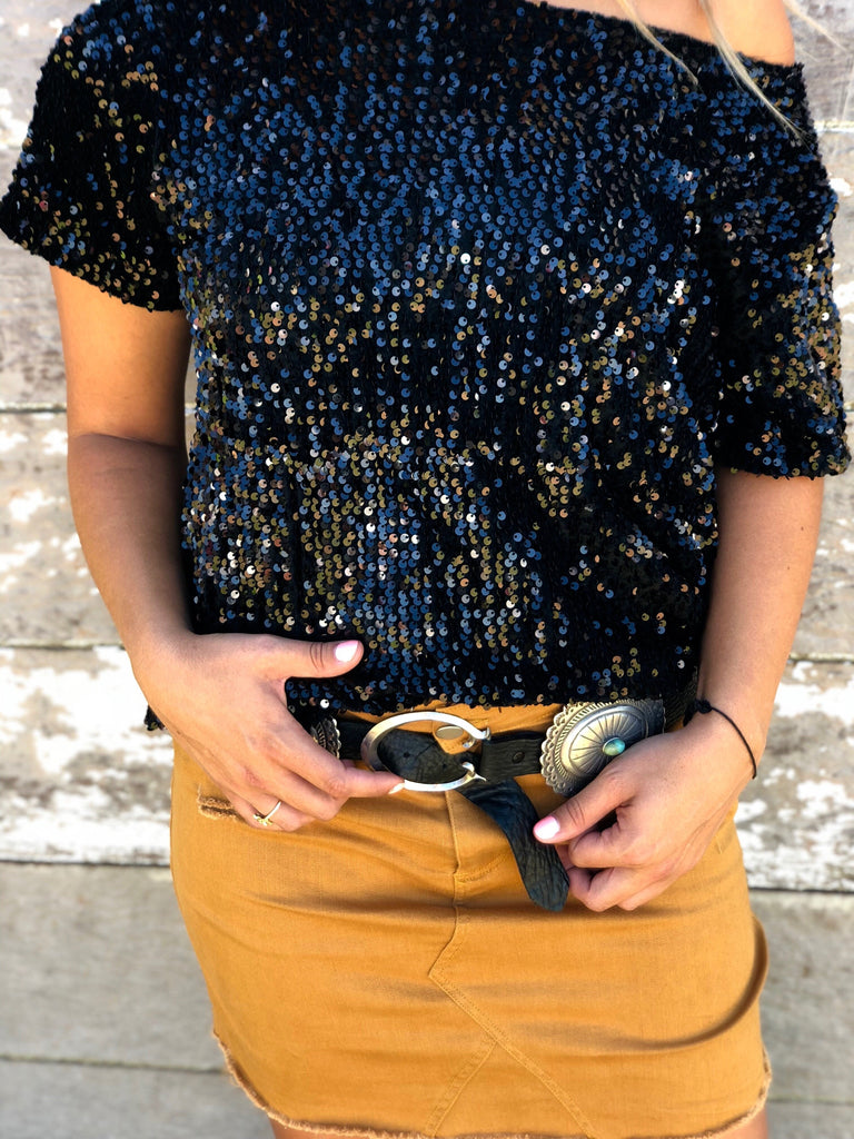 Showtime Sequin Top