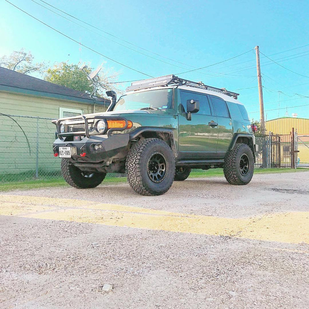 35s, Method Race Wheels and lights