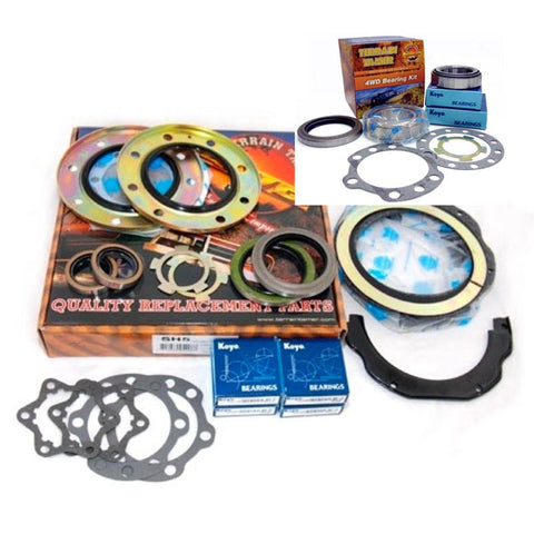 Terrain Tamer Knuckle Kit with Trunnion & Wheel Bearings