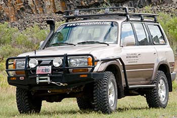 91-97 Land Cruiser 80 Series ARB DELUXE BULL BAR (FREE SHIPPING)
