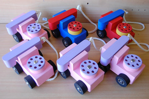 Wooden Toys - Telephone