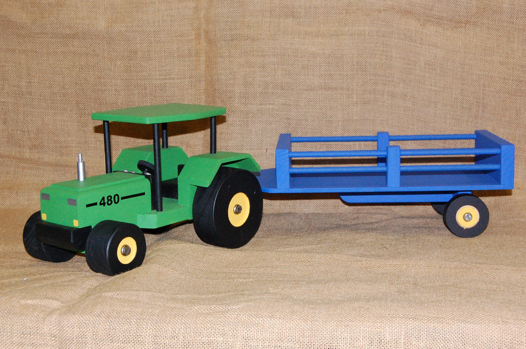 Wooden Toys - 480 Tractor