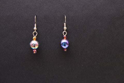 Shimmer Bead Earrings