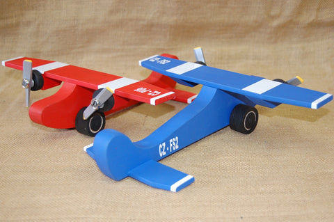 Wooden Toys - Twin Engine Plane