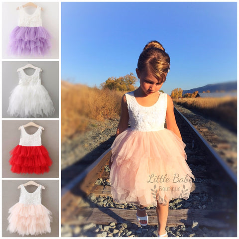 "Fairy Dust Dress- ""The Ballerina Collection"""