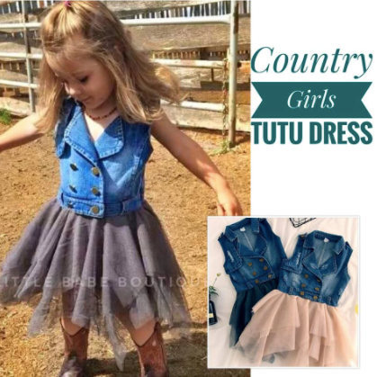 The Country Girl Tutu Dress