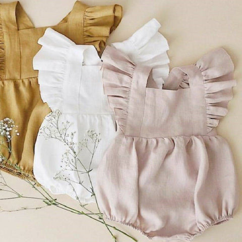 Morning Ruffle Romper
