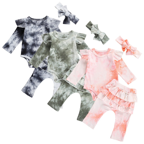 Tie-Dyed Ruffles