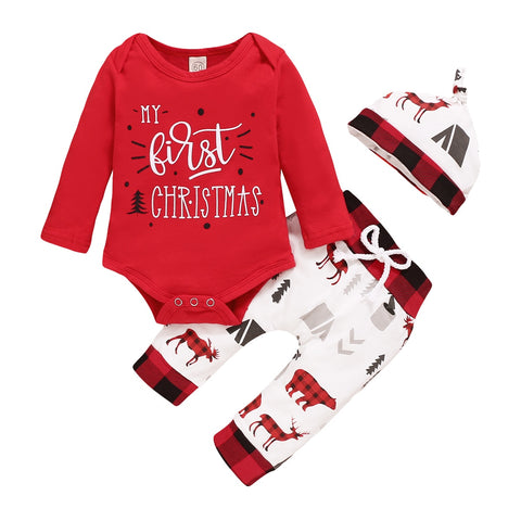 My 1st Christmas-Pant Set