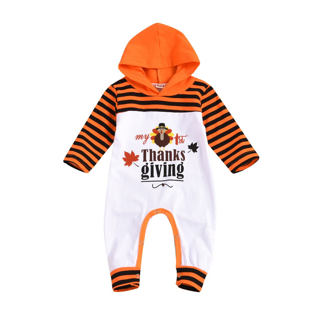 1st Thanksgiving Romper