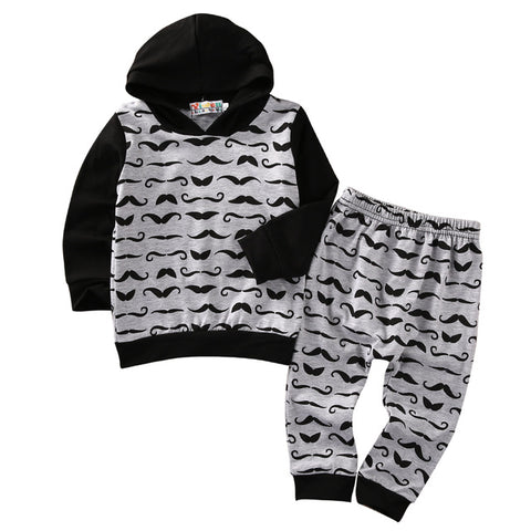 Moustache Mini Man- 2 piece set