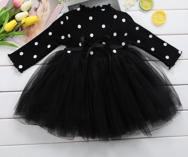 The Polka Perfection Tutu Dress- 3 color choices