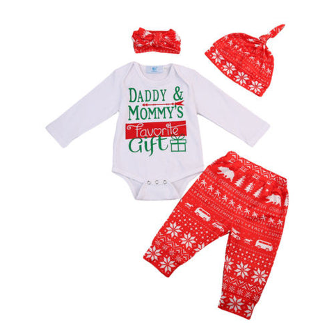 Mommy & Daddy's Favorite Gift- 4 piece set