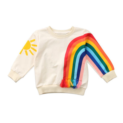 "The ""Rainbows Are Life"" Sweater"