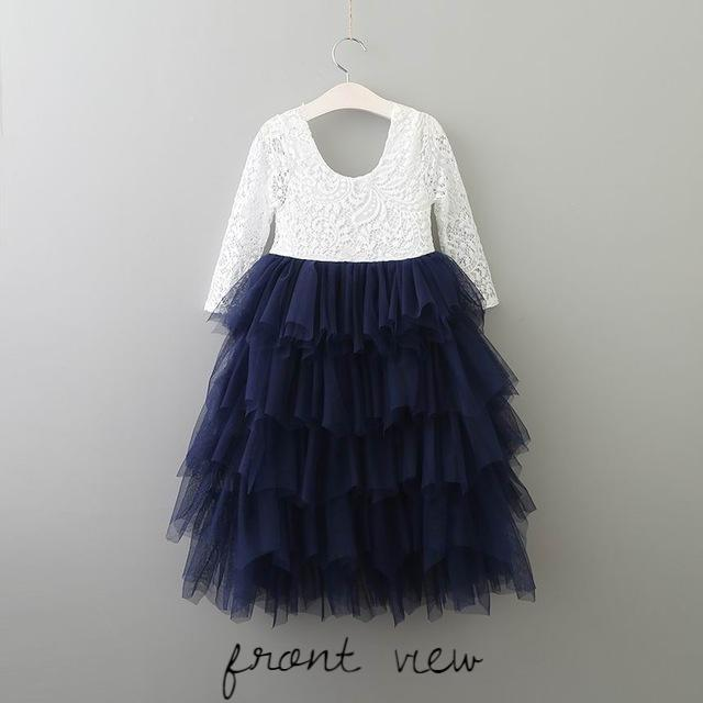 Fairy Dust Dress - NAVY BLUE