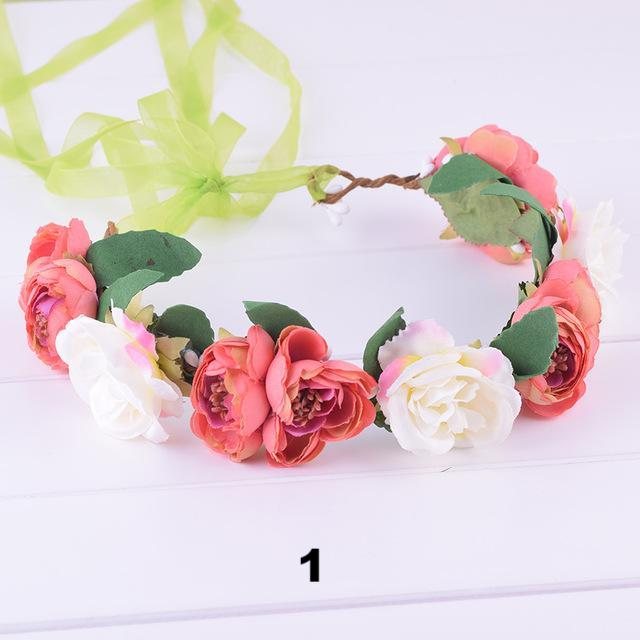 Fairy Floral Crown- 11 color scheme choices
