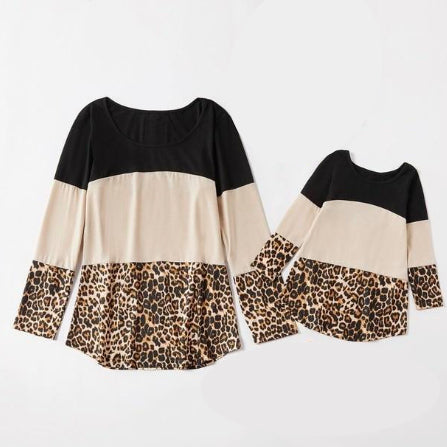Mommy & Me-Dressy Leopard