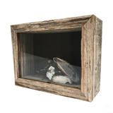 shadow box 5x7 shadow box - reclaimed wood