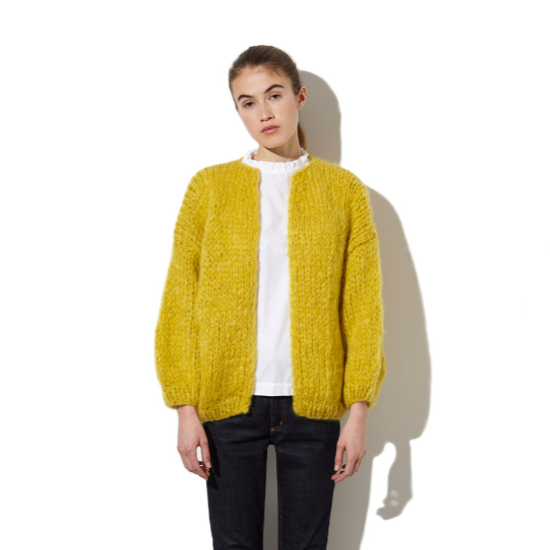mustard cardigan SOLD OUT